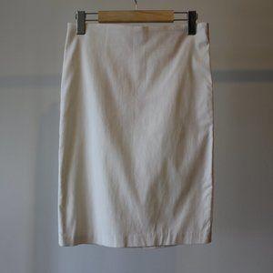 White Pencil Skirt Size Medium